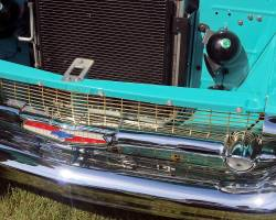 1957 Chevy Gold Grille - Image 2