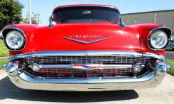 1957 Chevy Silver Grille - Image 2