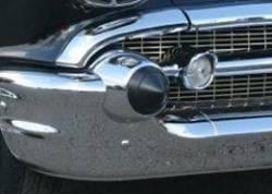 1957 Chevy Rubber Bumper Bullets Pair - Image 2