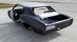 1967-69 Firebird Coupe Complete With Top Skin, Drip Rails, Quarter Panels, Doors & Deck Lid - Image 3
