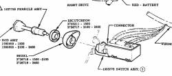 1957-63 Chevy Headlight Switch - Image 2