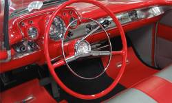 1957 Chevy Chrome Dash Bezel Set - Image 2
