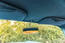 1955-57 Chevy Chrome Inside Rear View Mirror Bracket - Image 2