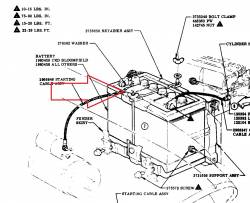 1957 Chevy Battery Hold Down Kit - Image 2