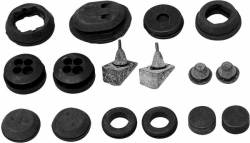 1955-57 Chevy - Firewall - 1957 Chevy Firewall Forward Grommet Set