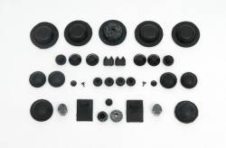 1955-57 Chevy - Floor - 1955-57 Chevy 2-Door Hardtop Body Grommet Set