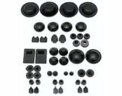 1955-57 Chevy - Floor - 1955-57 Chevy 2-Door Sedan Body Grommet Set