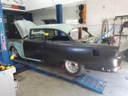 1955 Chevy 4-Door Sedan To 2-Door Sedan Tubbed Sheetmetal Conversion Kit - Image 7