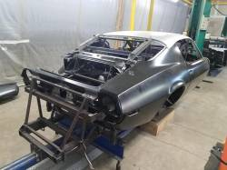 1970-73 Camaro Coupe Body With Standard Transmission & Heater Delete Firewall - Image 4