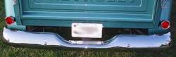 1955-59 Chevy & GMC Truck Stepside Chrome Rear Bumper - Image 2