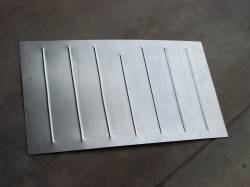 1955-57 Chevy Station Wagon & Nomad Cargo Area Spare Tire Well Delete Panel - Image 1