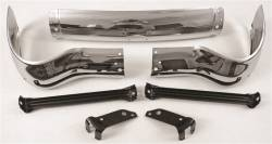 GM - 1955 Chevy Front Bumper With Brackets - Image 2