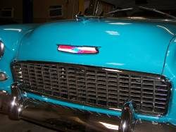 1955 Chevy Lighted LED Hood Emblem Assembly - Image 4