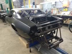 1970-73 Camaro Coupe Body With Automatic & Factory Air Conditioning Firewall With DSE Wider Wheel Tubs - Image 9