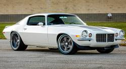 1970-73 Camaro Coupe Body With Standard Transmission & Factory Air Conditioning Firewall With DSE Wider Wheel Tubs - Image 5
