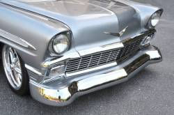 "1956 Chevy California ""Smoothie"" Style Chrome Front Bumper - Image 2"