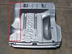 1955-57 Chevy Left Side Trunk Floor Repair Panel - Image 2