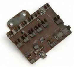 1955-57 Chevy - Dash - 1955 Chevy Used Original Fuse Panel