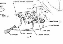 1956 Chevy Used Original Fuse Panel - Image 2