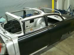 1955 Chevy 2-Door Sedan Body Skeleton With Dash, Quarter Panels, Doors & Deck Lid - Image 4