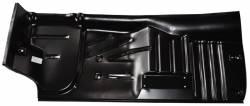 1955-57 Chevy - Floor - 1955-57 Chevy 2-Door Hardtop & Convertible Right Half Full Floor Pan