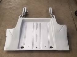 1962-67 Chevy II Complete Floor, Trunk Floor & Frame Rail Assembly - Image 1